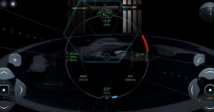 SpaceX Crew Dragon Flat Earth