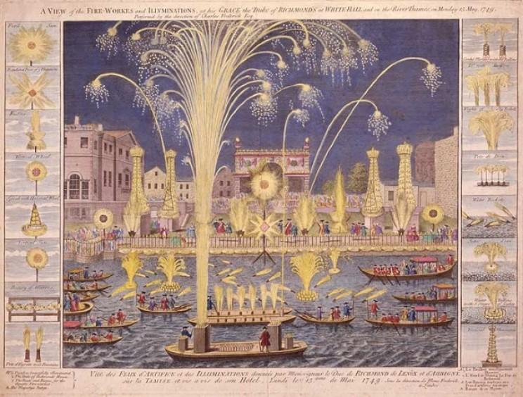 Duke of Richmond's fireworks display