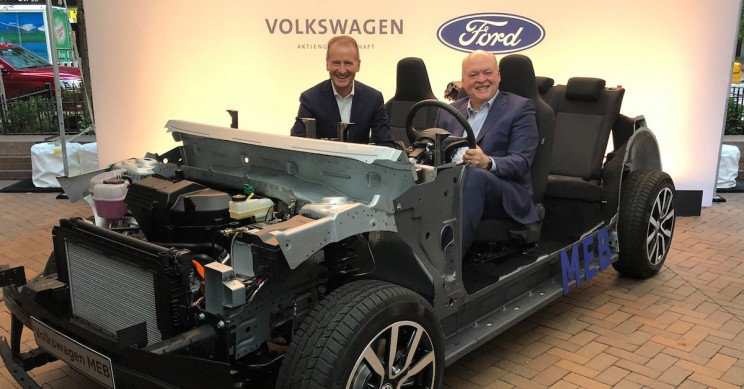 Ford and Volkswagen in Joint Partnership Towards Autonomous and Electric Vehicles