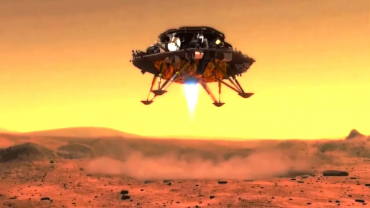 China Just Landed Its First Rover on Mars