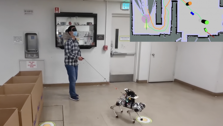 New Robodog Guides the Visually Impaired With Lasers