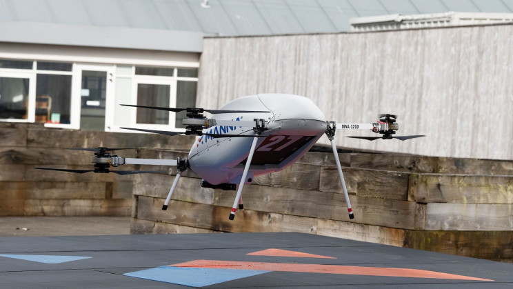 Samsung Partners With Drone Firm to Deliver Devices in Minutes