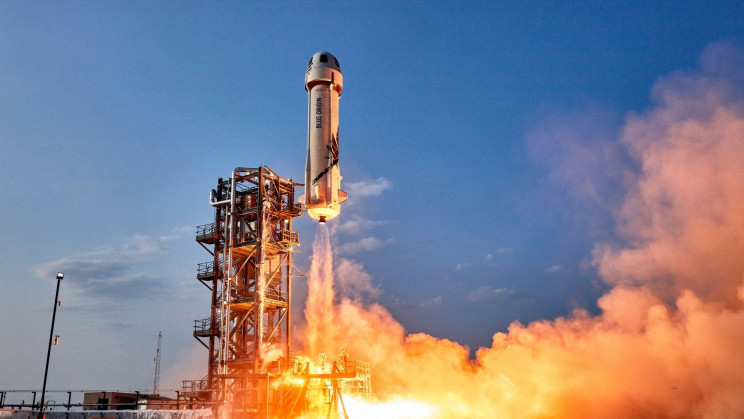 Jeff Bezos' Blue Origin Is Launching Again. With Captain Kirk?