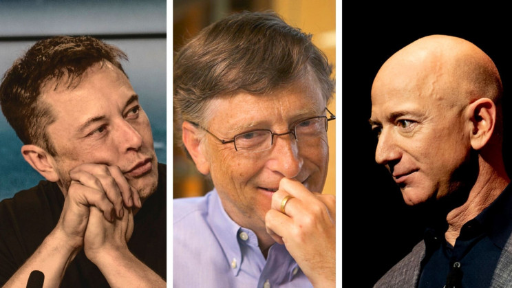 Bill Gates Took a Swing at Elon Musk and Jeff Bezos' Space Programs