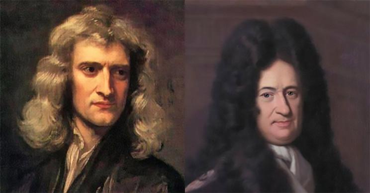 Isaac Newton and Gottfried Liebniz