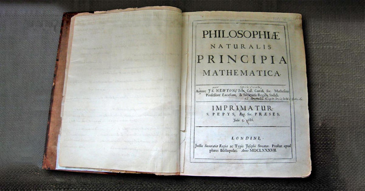 Isaac Newton's Philosophiae Naturalis Principia Mathematica