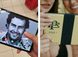"Pablo Escobar's Brother Explicitly Promotes His New ""Unbreakable"" Foldable Smartphone"