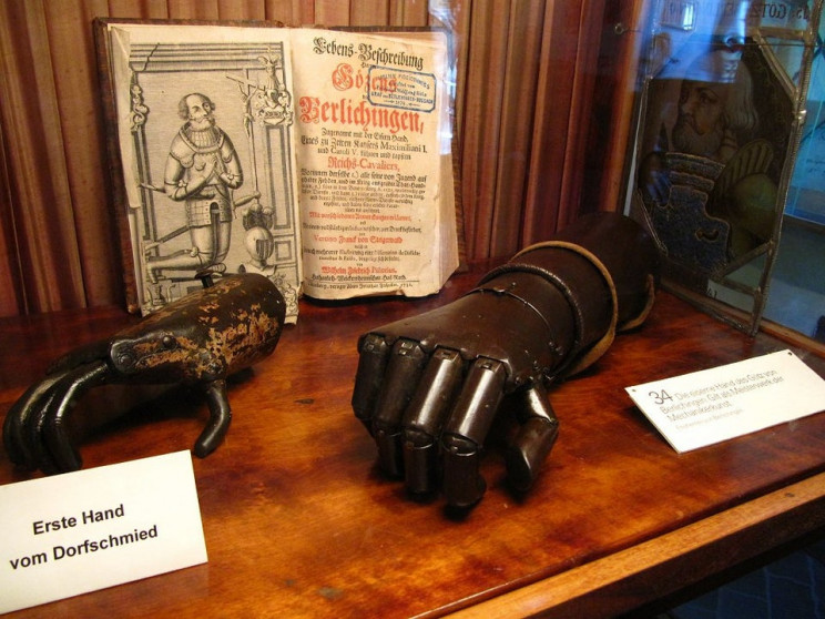 prosthetic limbs in history germany