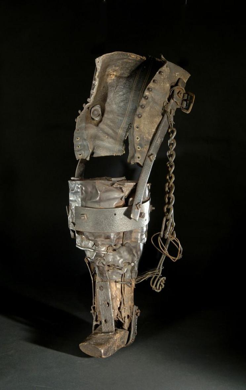 prosthetics in history miners leg