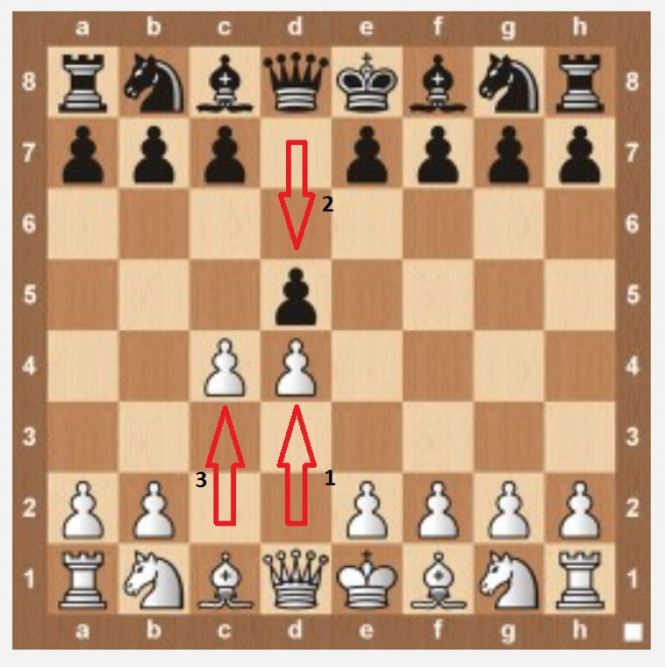 the queens gambit moves