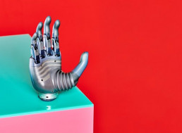 Formidable Prosthetic Hand Can Be Controlled Solely with Your Mind