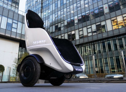 Segway Unveils Self-Balancing Vehicle You Sit In