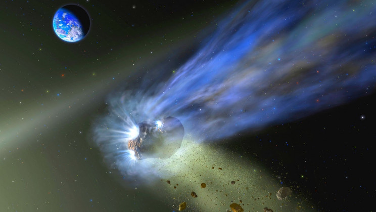 An Icy Comet May Have Kick-Started Life on Earth