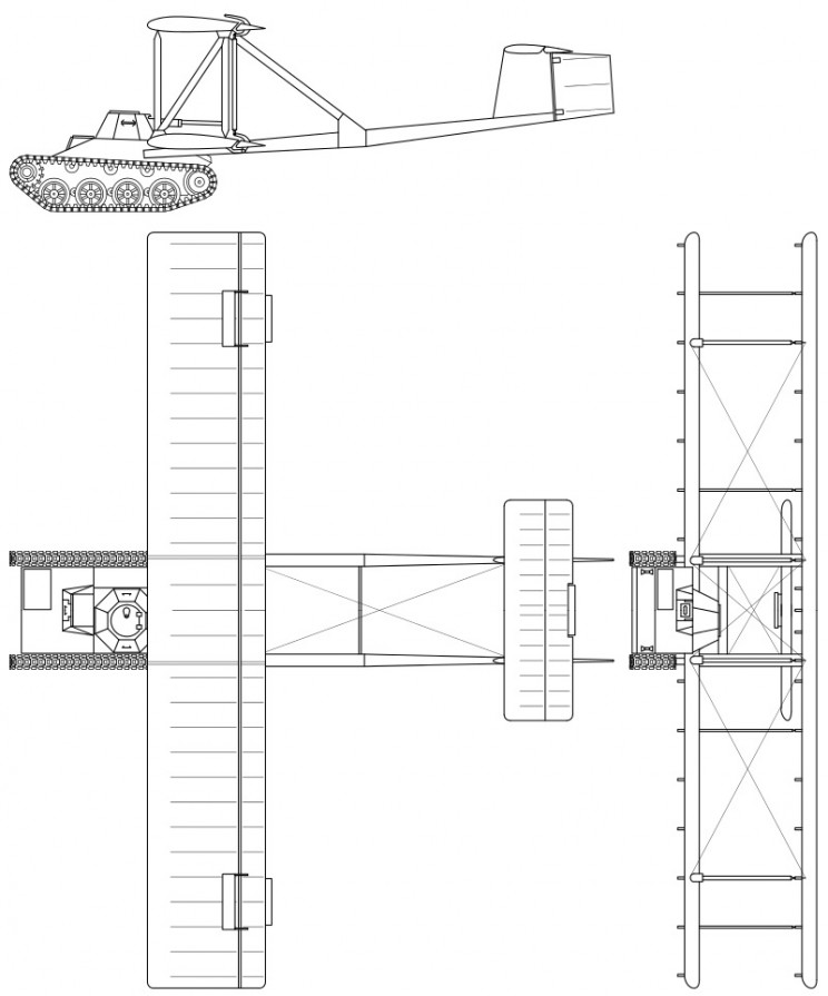 flying tanks A-40 schematics