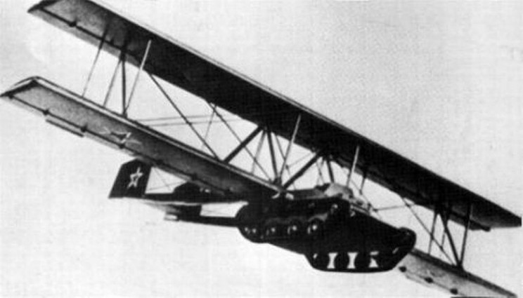 flying tanks A-40