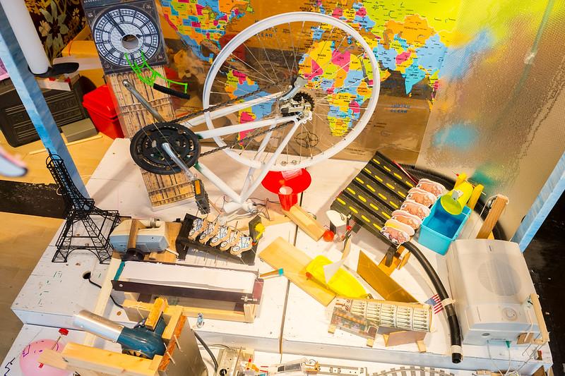 rube goldberg machine example