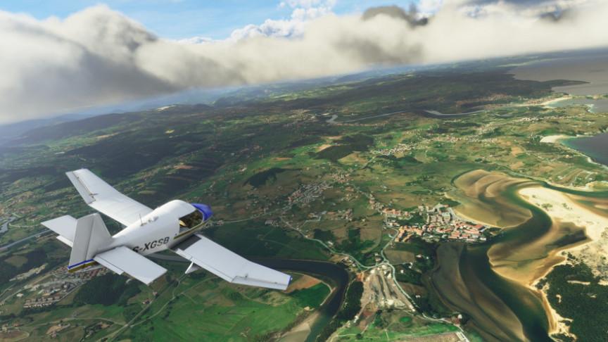 Microsoft Working to Add VR to its Flight Simulator