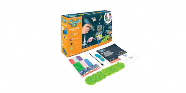 Unleash Your Child's Inner Engineer with This 3D Printing Pen Set