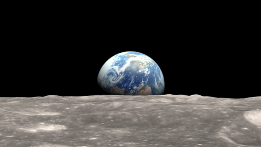 """Forget Space Elevators, Let's Build """"Spacelines"""" from the Moon, Study Suggests"""