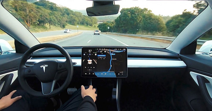Tesla Aims for Early 2021 Release of Full Self-Driving Monthly Package