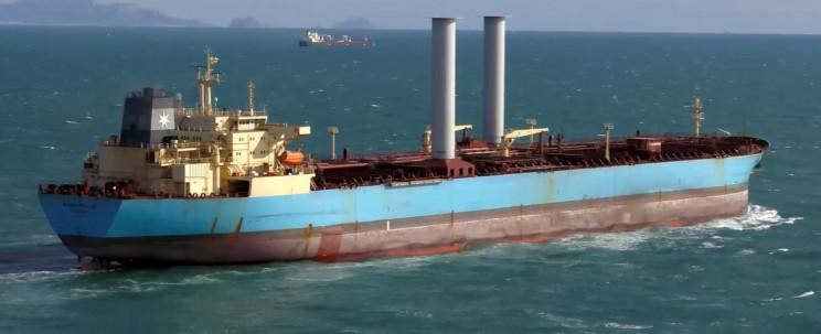 norsepower rotor sails tanker
