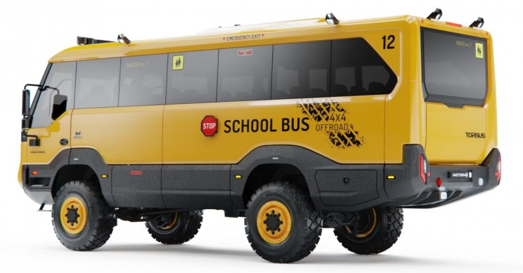 School's Never Out With This Heavy-Duty All-Terrain Bus