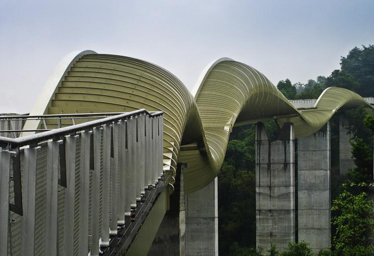 13+ Extraordinary Neofuturistic Bridge Designs