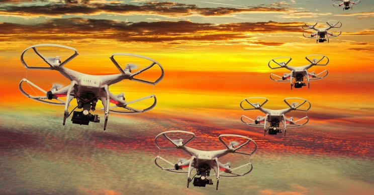 Watch Out Spiderman! Scientists Build Drones With Spider-Like Senses