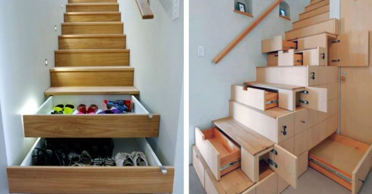 9 Super Space-Saving Stair Designs to Make Your Staircase a Thing of Beauty