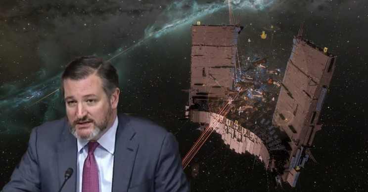 US Sen Ted Cruz Flamed on Twitter over Space Pirate Fears