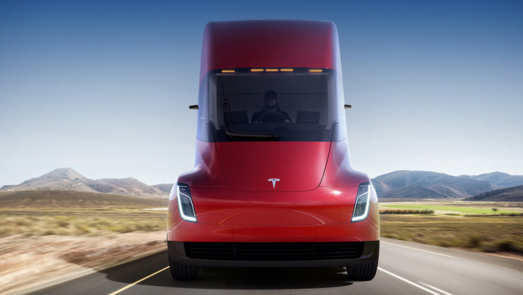"The Tesla Semi Is Reportedly ""Exceeding"" Range Expectations"