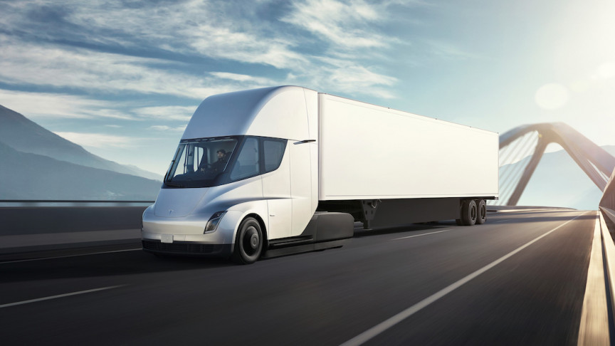 """The Tesla Semi Is Reportedly """"Exceeding"""" Range Expectations"""