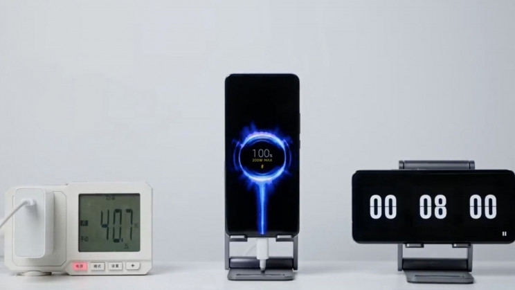 Xiaomi Beats Phone Charging Record With 8 Minute Recharge Time