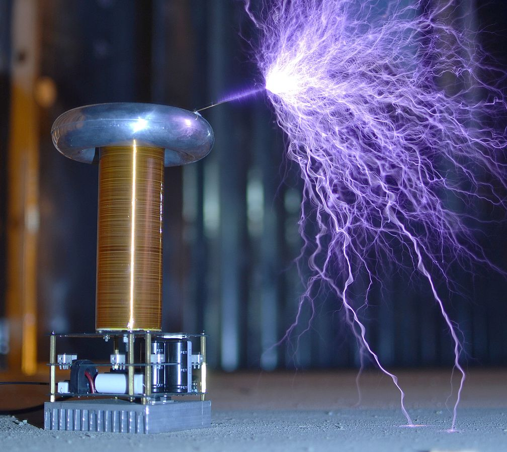 Tesla inventions coil