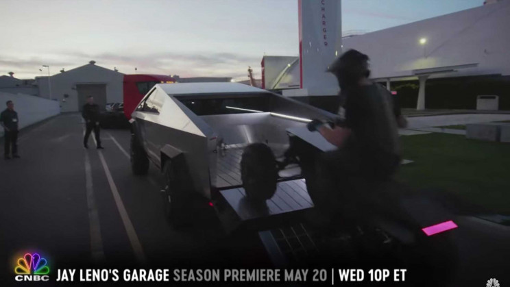 Tesla Cybertruck and Cyberquad to Feature in Jay Leno's Garage's New Season
