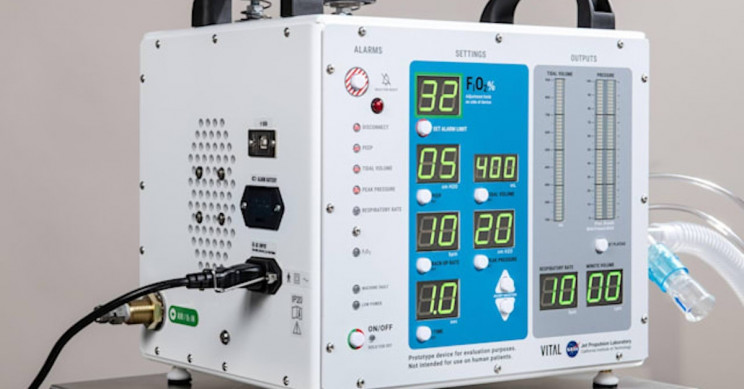 NASA's FDA-Approved Ventilator Will Be Available to Manufacturers for Free