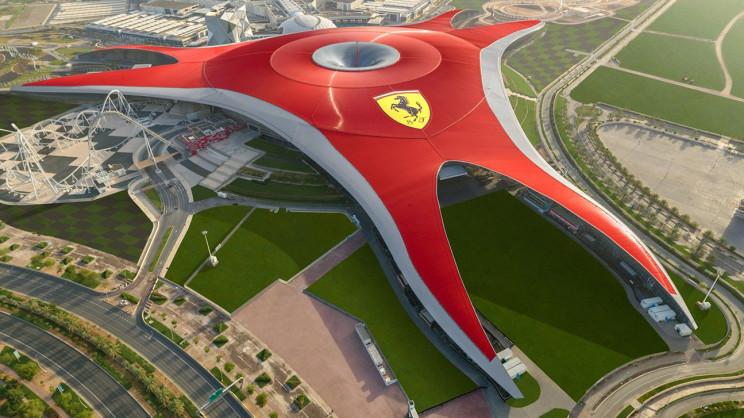 facts about Ferrari theme park