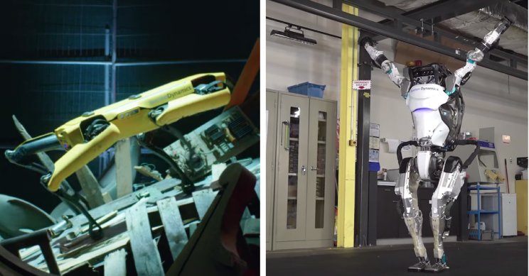 Boston Dynamics Robots Can Now Do Gymnastics Routines and Manage Tricky Terrain