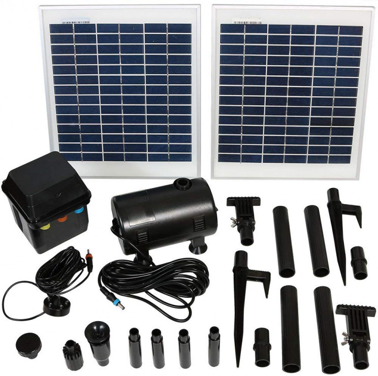 Sunnydaze Outdoor Solar Pump