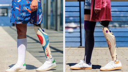 A Canadian Design Studio Created Custom Covers for Prosthetic Limbs