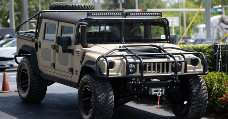 Hummer to Make a Reappearance in 2022 as an Electric Pickup