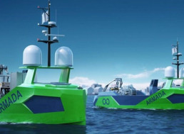 Ocean Infinity's Unmanned Robot Ship Fleet Will Map Out the Entire Seabed