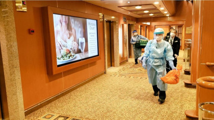 14 American Citizens on a Quarantined Cruise Ship in Japan Test Positive for Coronavirus