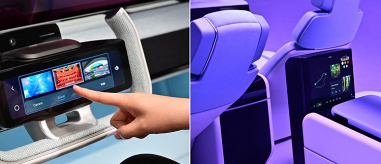 Samsung's Digital Cockpit Turns Cars into Offices, Gaming Hubs, or Concert Halls