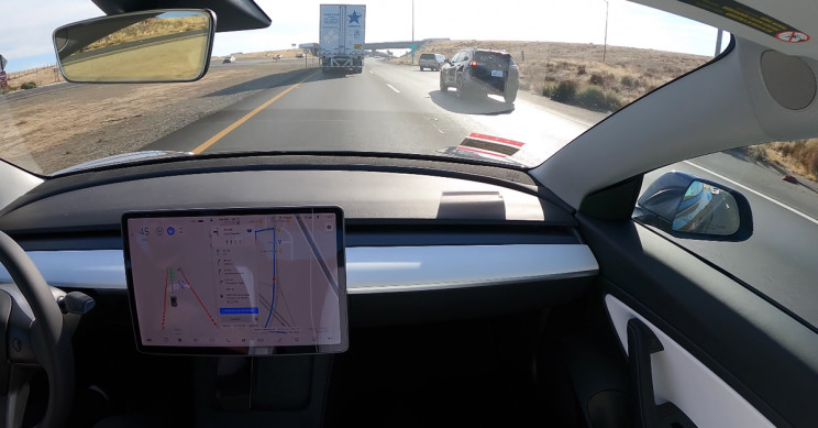 Tesla 'Full Self-Driving' Successfully Takes Model 3 from SF to LA