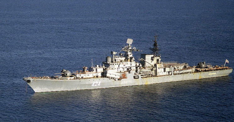 Russian Navy Commander Allegedly Stole Two Propellers from His Destroyer