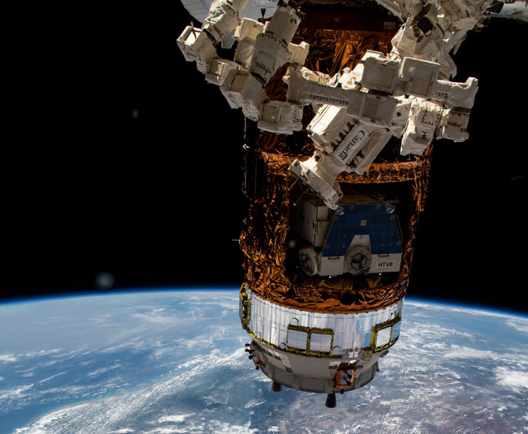 JAXA's HTV-9 to Burn Up on Re-Entry After ISS Departure