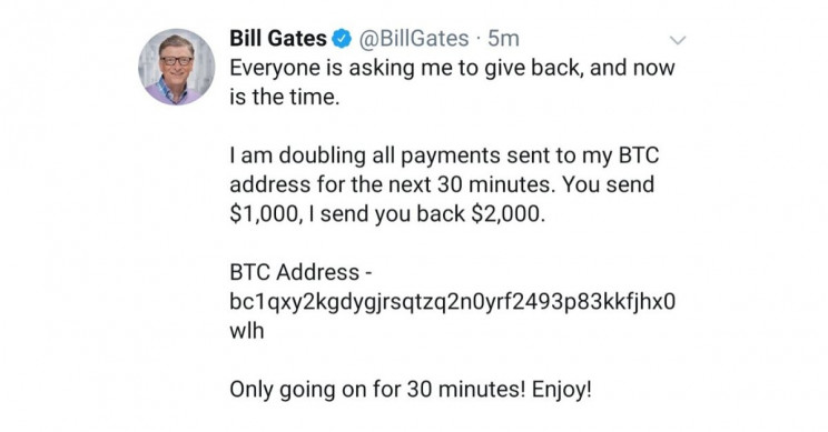 Bill Gates Hacked