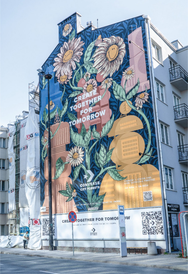 This Eco-Friendly Mural Cleans Air Pollution as Much as 780 Trees