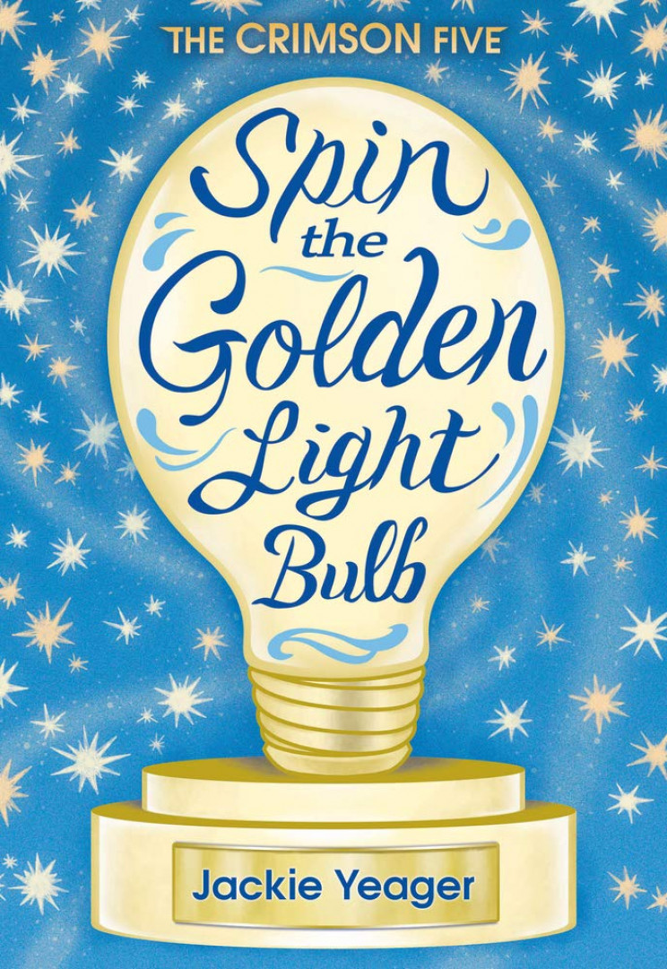 STEM books golden lightbulb
